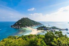 νησί nang Ταϊλάνδη yuan Στοκ εικόνες με δικαίωμα ελεύθερης χρήσης