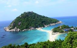 Νησί Nangyuan, Ταϊλάνδη Στοκ Εικόνες