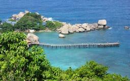 Νησί Nangyuan, Ταϊλάνδη Στοκ φωτογραφίες με δικαίωμα ελεύθερης χρήσης