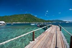 νησί nangyuan Στοκ Φωτογραφίες