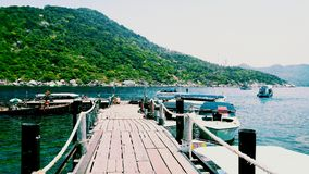 νησί nangyuan Στοκ Εικόνες