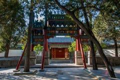 Νησί Nanhu θερινών παλατιών του Πεκίνου σύνθετο Στοκ Εικόνα