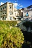 Νησί Ortigia στις Συρακούσες, Σικελία Στοκ Εικόνες