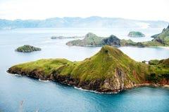 Νησί Padar, εθνικό πάρκο Komodo στην ανατολή Nusa Tenggara, Ινδονησία στοκ εικόνα με δικαίωμα ελεύθερης χρήσης