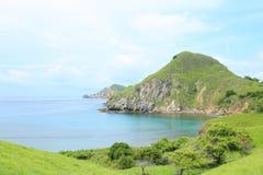 Νησί Padar, Flores, Ινδονησία Στοκ εικόνα με δικαίωμα ελεύθερης χρήσης