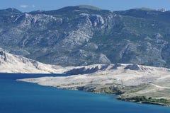 νησί pag Στοκ φωτογραφίες με δικαίωμα ελεύθερης χρήσης