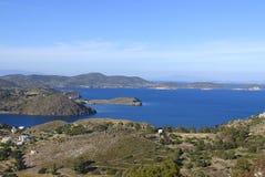 Νησί Patmos, Ελλάδα Στοκ φωτογραφία με δικαίωμα ελεύθερης χρήσης