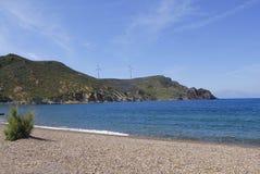 Νησί Patmos, Ελλάδα Στοκ Εικόνες