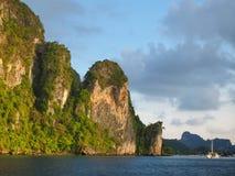 Νησί phi-Phi Στοκ Φωτογραφία