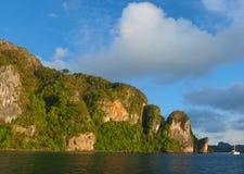 Νησί phi-Phi Στοκ φωτογραφία με δικαίωμα ελεύθερης χρήσης