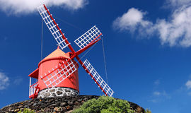 Νησί Pico ανεμόμυλων, Αζόρες (Πορτογαλία) Στοκ Φωτογραφίες