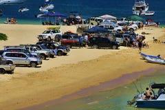 Νησί Playgroung Moreton Στοκ Εικόνες