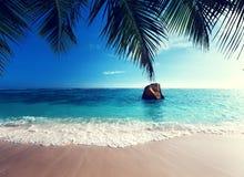 Νησί Praslin παραλιών του Λάτσιο Anse Στοκ εικόνες με δικαίωμα ελεύθερης χρήσης
