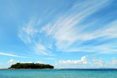 Νησί Prisnjak (Murter, Κροατία) Στοκ φωτογραφίες με δικαίωμα ελεύθερης χρήσης