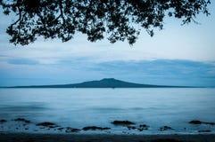 Νησί Rangitoto Στοκ Εικόνες