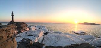 Νησί Russkiy, Βλαδιβοστόκ Στοκ Φωτογραφίες