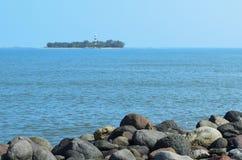 Νησί Sacrificios στοκ εικόνες