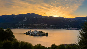 νησί SAN του Giulio Στοκ Φωτογραφία