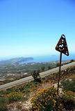 Νησί Santorini Στοκ Εικόνα