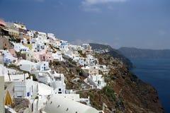 Νησί Santorini Fira, Ελλάδα Στοκ φωτογραφίες με δικαίωμα ελεύθερης χρήσης
