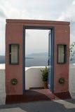 Νησί Santorini Fira, Ελλάδα Στοκ Εικόνα