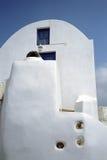 Νησί Santorini Fira, Ελλάδα Στοκ Φωτογραφίες