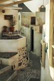 Νησί Santorini, Oia χωριό, διάσημος προορισμός ταξιδιού της Ελλάδας στοκ φωτογραφία με δικαίωμα ελεύθερης χρήσης