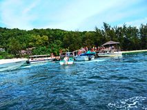 Νησί Sapi, Sabah Μαλαισία στοκ εικόνα