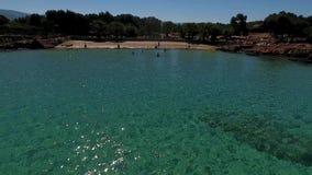 Νησί Sedir στην Τουρκία απόθεμα βίντεο