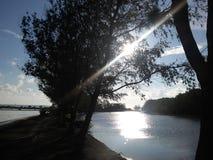 Νησί Serangan Στοκ φωτογραφίες με δικαίωμα ελεύθερης χρήσης