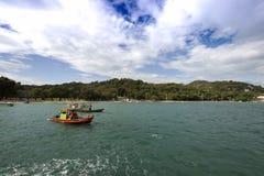 Νησί Si-Chang Στοκ εικόνα με δικαίωμα ελεύθερης χρήσης