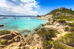 Νησί Spargi, αρχιπέλαγος της Maddalena, Σαρδηνία Στοκ εικόνες με δικαίωμα ελεύθερης χρήσης