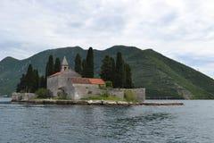νησί ST George Στοκ Φωτογραφία