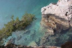 Νησί ST Stefan Στοκ φωτογραφία με δικαίωμα ελεύθερης χρήσης