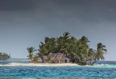 Νησί Sunblas στον Παναμά Στοκ Εικόνες