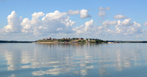 Νησί Svijazhsk Στοκ φωτογραφία με δικαίωμα ελεύθερης χρήσης