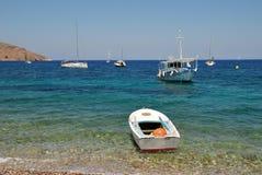 Νησί Tilos, Ελλάδα Στοκ Φωτογραφίες