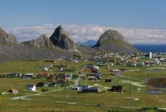 νησί vaeroy Στοκ εικόνα με δικαίωμα ελεύθερης χρήσης