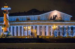 νησί vasilievsky Άγιος-Πετρούπολη Στοκ εικόνες με δικαίωμα ελεύθερης χρήσης