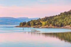 Νησί Ytteroey, Νορβηγία Στοκ φωτογραφία με δικαίωμα ελεύθερης χρήσης