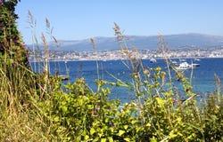 Νησιά Γαλλία Lérins Στοκ φωτογραφία με δικαίωμα ελεύθερης χρήσης