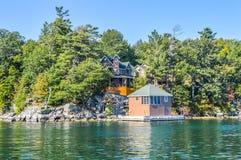 1000 νησιά και Κίνγκστον Στοκ Εικόνες