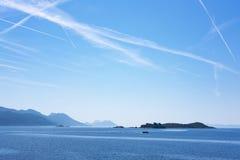 Νησιά κοντά σε Korcula, Δαλματία στοκ φωτογραφίες με δικαίωμα ελεύθερης χρήσης