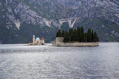 Νησιά στον κόλπο Boko Kotor, Μαυροβούνιο Στοκ φωτογραφία με δικαίωμα ελεύθερης χρήσης