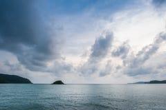 Νησιά στον ορίζοντα Στοκ φωτογραφία με δικαίωμα ελεύθερης χρήσης