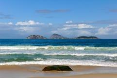 Νησιά στον ωκεανό στοκ φωτογραφίες με δικαίωμα ελεύθερης χρήσης