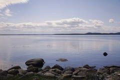νησιά σύννεφων Στοκ Εικόνες