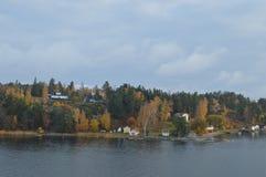 Νησιά της Σουηδίας στη θάλασσα της Βαλτικής Στοκ φωτογραφία με δικαίωμα ελεύθερης χρήσης