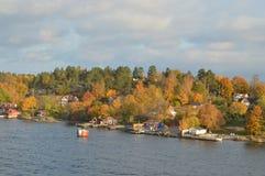 Νησιά της Σουηδίας στη θάλασσα της Βαλτικής Στοκ Φωτογραφία