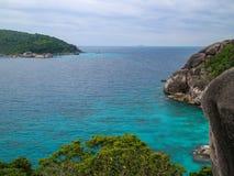 Νησιά της Ταϊλάνδης Phuket Similan Στοκ φωτογραφίες με δικαίωμα ελεύθερης χρήσης